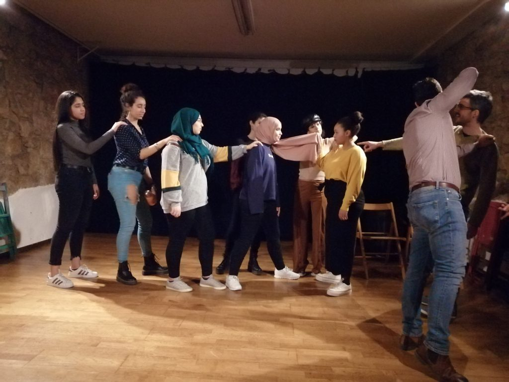 Teatro contra la Islamofobia