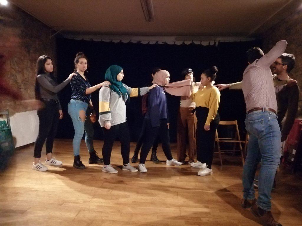 Forn de teatre Pa'totho - Workshop contra la islamofobia